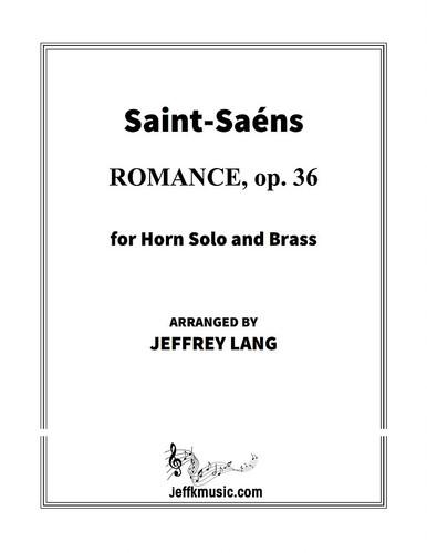 Saint-Saens - Romance, op. 36