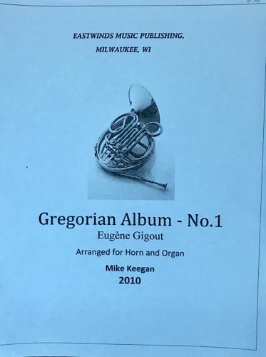Gigout, Eugene - Gregorian Album No. 1