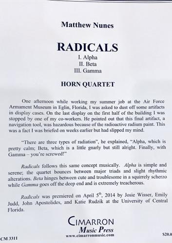 Nunes, Matthew - Radicals (image 1)
