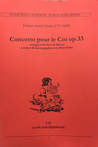 Andre, Johann Anton - Concerto for Horn, Op. 33