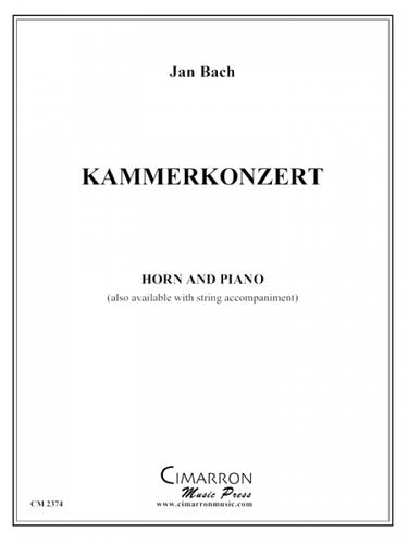 Bach, Jan - Kammerkonzert