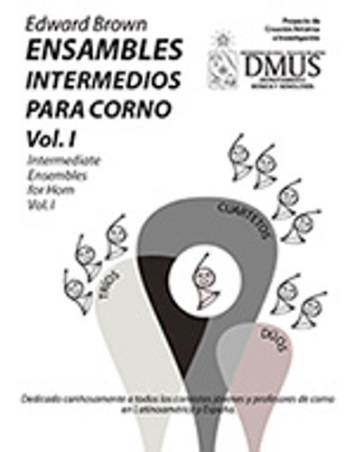 Brown, Edward - Ensambles Intermedios Para Corno/Intermediate Ensembles for Horn Vol. 1 (image 1)