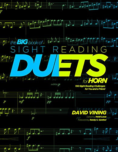 Vining, David - The Big Book of Sight Reading Duets for horn