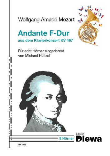 Mozart, W.A. - Andante in F-Dur (aus dem Klavierkonzert KV 467)