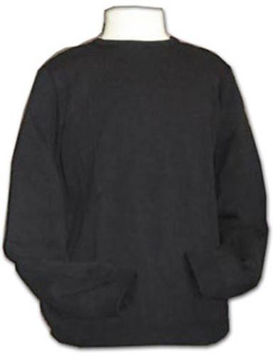 Sweater Crewneck Pullover | Long Sleeves | Black |100% Acrylic