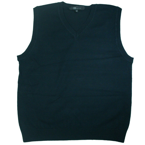 Sleeveless Sweater Vest - 100% Cotton
