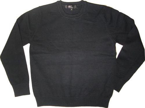 LJ Imports Crew Neck Sweater - 100% Cotton