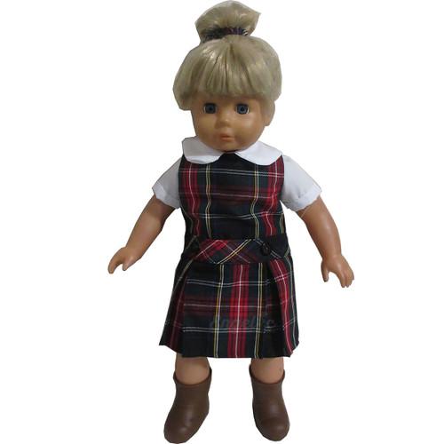 Doll Uniform Low Waisted Jumper- Plaid T - Color # 63