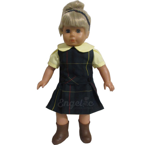 Doll Uniform Low Waisted Jumper- Plaid G - Color # 83