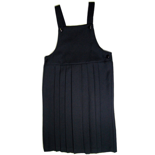 Classic Navy Jumper Eight Pleats Front and Back - Poly Wool