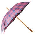 Francesco Maglia Wood Tartan Red Umbrella