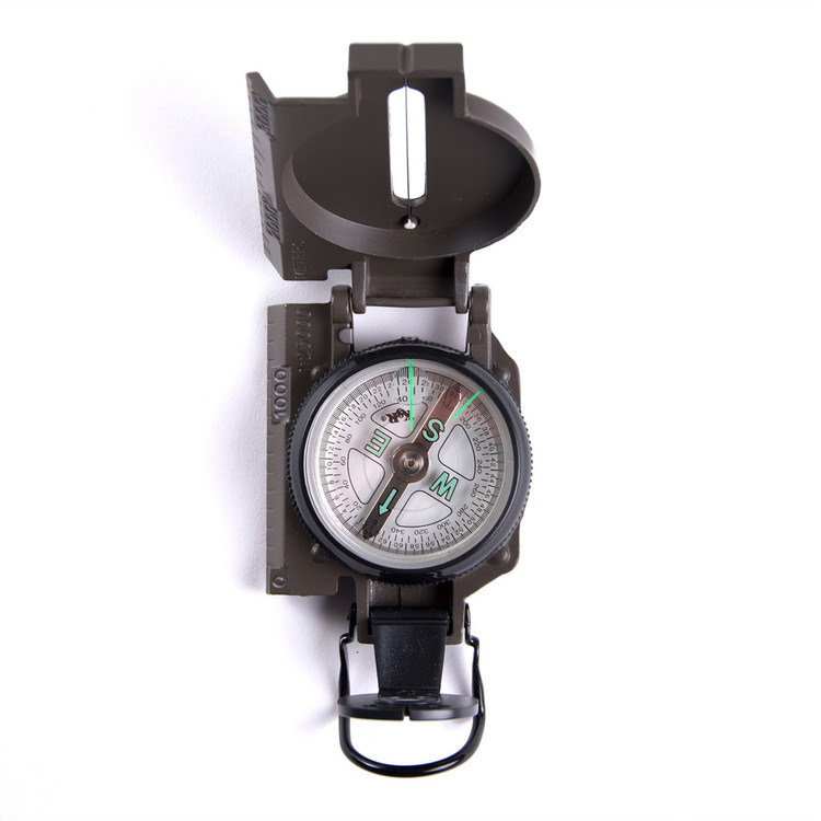 Lensatic Hiking Compass