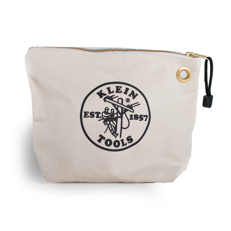 Klein Tools Canvas Zip Pouch