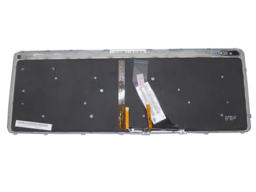 Laptop Keyboard For Acer M5-581 M3-581 V5-571 V5-531 Black With Silver Frame&Backlit BG bulgaria 9Z.N8QBW.K0B NSK-R3KBW