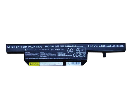 Battery For CLEVO W251EL W270H W271 W150DAQ W240BAT-6 6-87-W15ES-4V4 6-87-C480S-4P4 6-87-C450S-4R4 NP5175 W240H 6-87-E412S-4D7