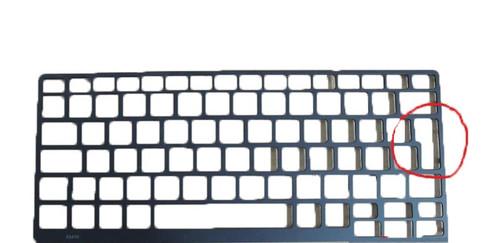 Laptop Keyboard Trim Bezel For DELL Latitude E5470 5470 E5450 5450 E5250 3340 3350 black UK layout 0H3H5P 0X7NP0