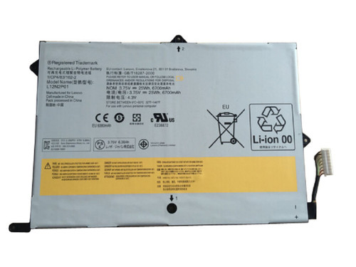 Battery Tablet For Lenovo IdeaPad Miix 10 L12N2P01 121500184 L12M2P01 121500183 3.7V25Wh 6700mAh 2cell