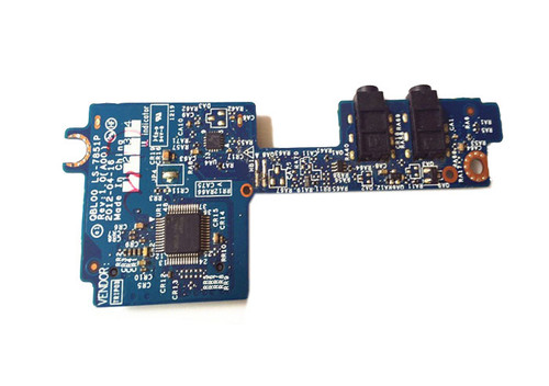 Laptop Audio SD Slot Board For DELL XPS 15 L521X P23F QBLOO LS-7851P 0KXMF1