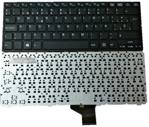 Laptop Keyboard For Medion Akoya MD98705 P2211T MP-13L16E0-360 82B382-JV304 Black  Spain SP