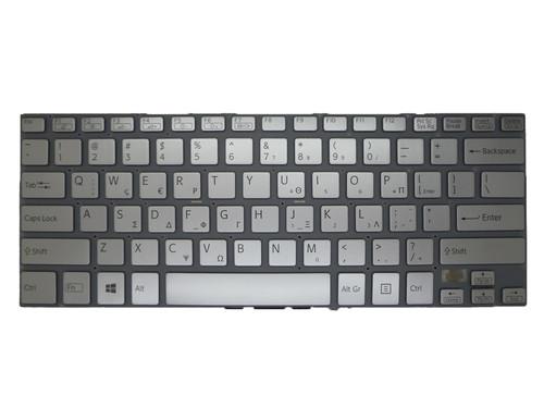 Laptop Keyboard For SONY VAIO SVF14A 9Z.NABBQ.10L 149238591GR AEGD5+010203A Greece GK Silver