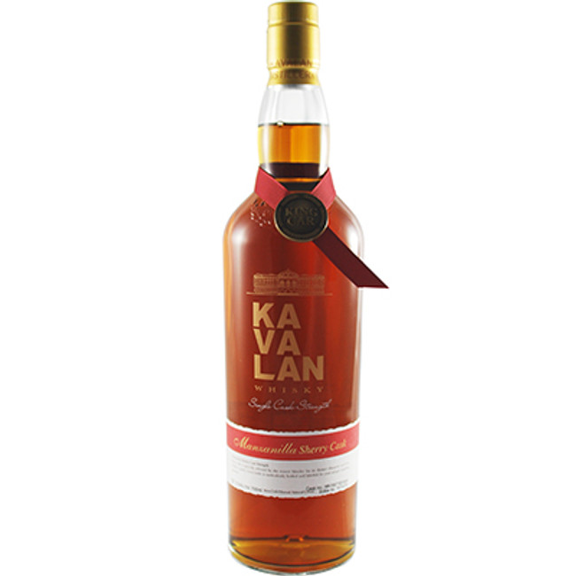 Kavalan Solist Manzanilla Sherry Single Cask Strength Single Malt Whisky