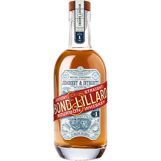 Bond & Lillard Kentucky Straight Bourbon Whiskey 100 Proof 375ml