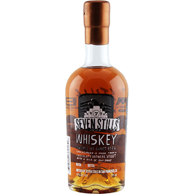 Seven Stills Chocasmoke Chocolate Oatmeal Stout Whiskey 375ml 94 Proof