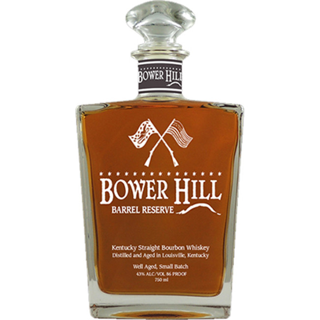 Bower Hill Barrel Reserve Kentucky Straight Bourbon Whiskey