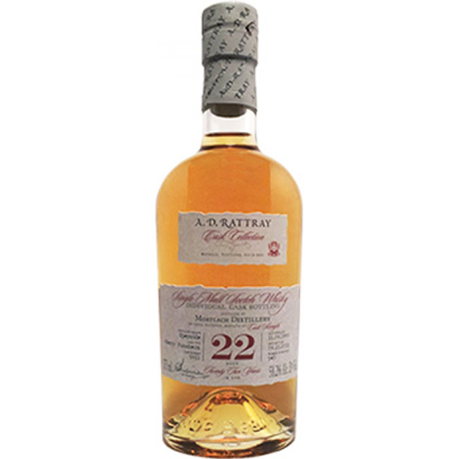 A.D. Rattray Cask Collection  Mortlach 22 Year Single Malt Scotch Whisky