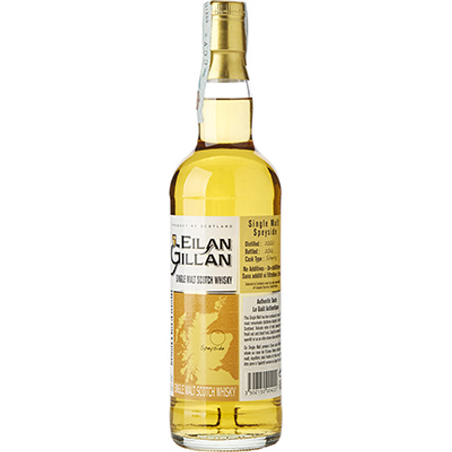 Eilan Gillan Speyside Single Malt Scotch