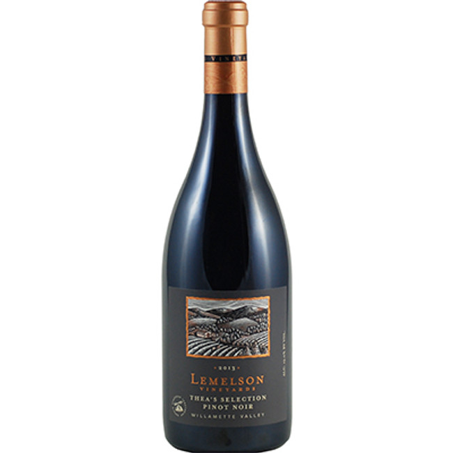 Lemelson Vineyards Thea's Selection Pinot Noir