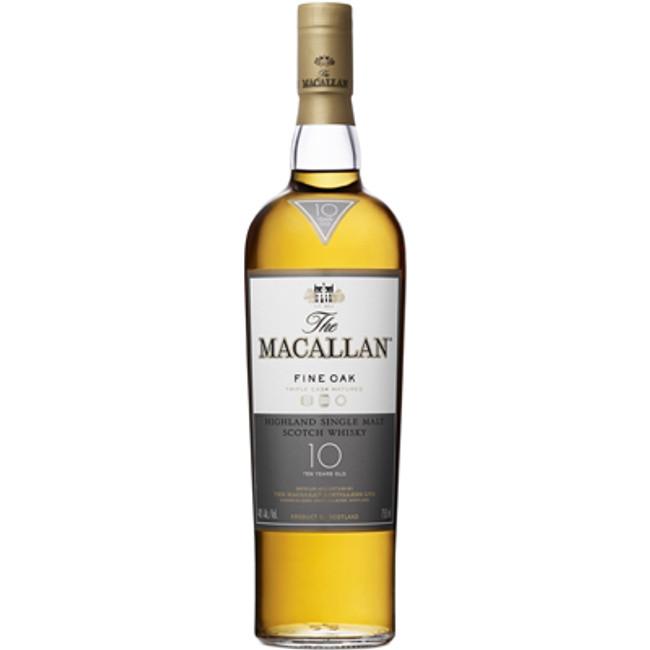 """Macallan """"Fine Oak"""" 10 Years Old Single Malt Scotch Whisky"""
