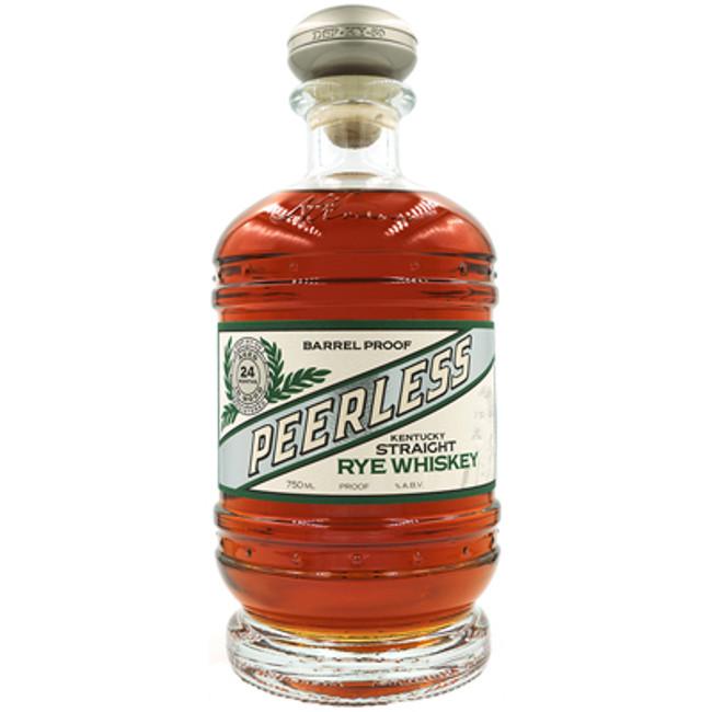Peerless Kentucky Straight Rye Whiskey Barrel Proof 24 Months Old