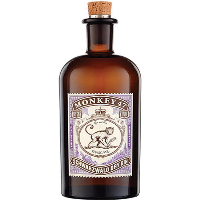 Black Forest Distillers Monkey 47 Schwarzwald Handcrafted Dry Gin 1L