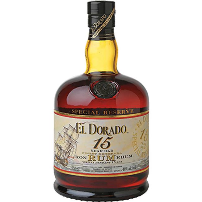 Demerara Distillers El Dorado 15 Year Old Rum