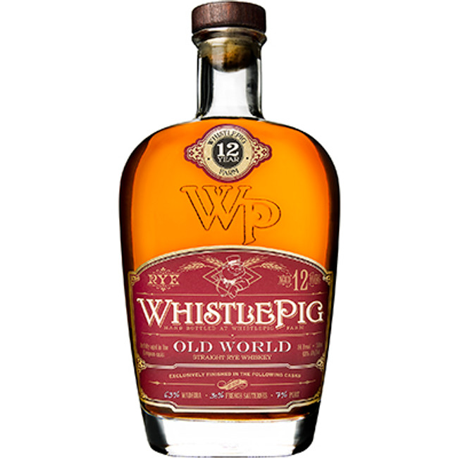 Whistle PigOld World Rye 12 Years Old