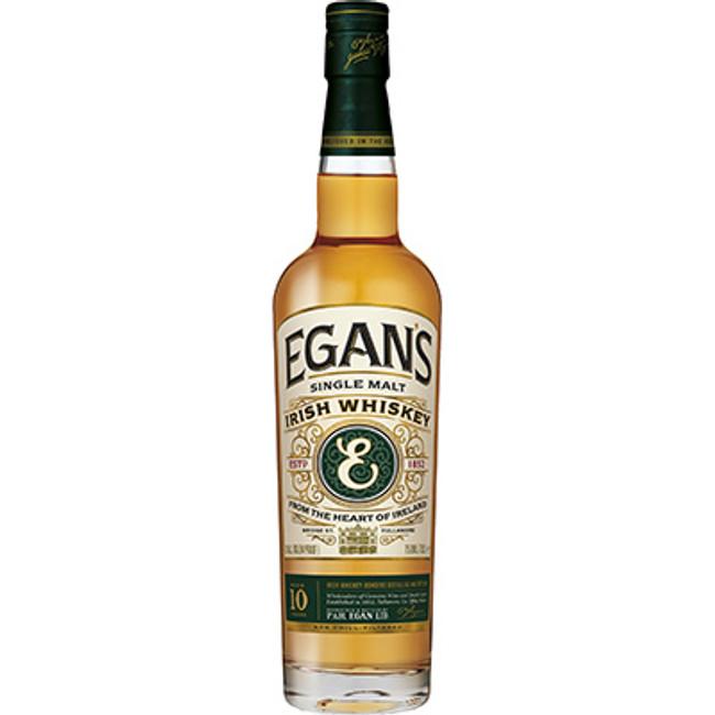 Egan's Single Malt Irish Whiskey 10 Years OId