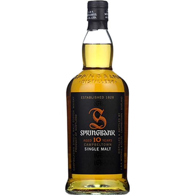 SpringbankCampbeltownSingle Malt Whisky10 Years Old