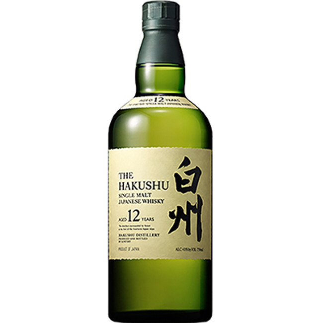 Suntory Hakushu 12 Years Old Single Malt Whisky