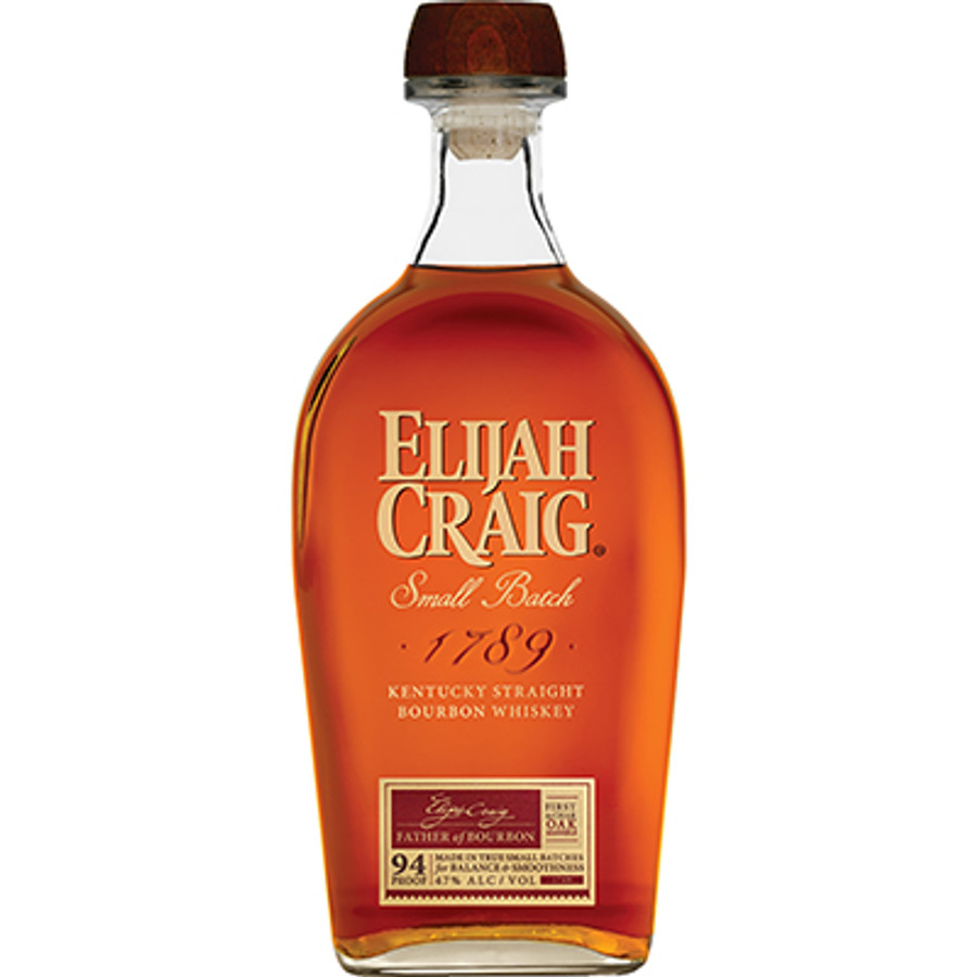 Elijah Craig Small Batch Kentucky Straight Bourbon Whiskey 94 Proof