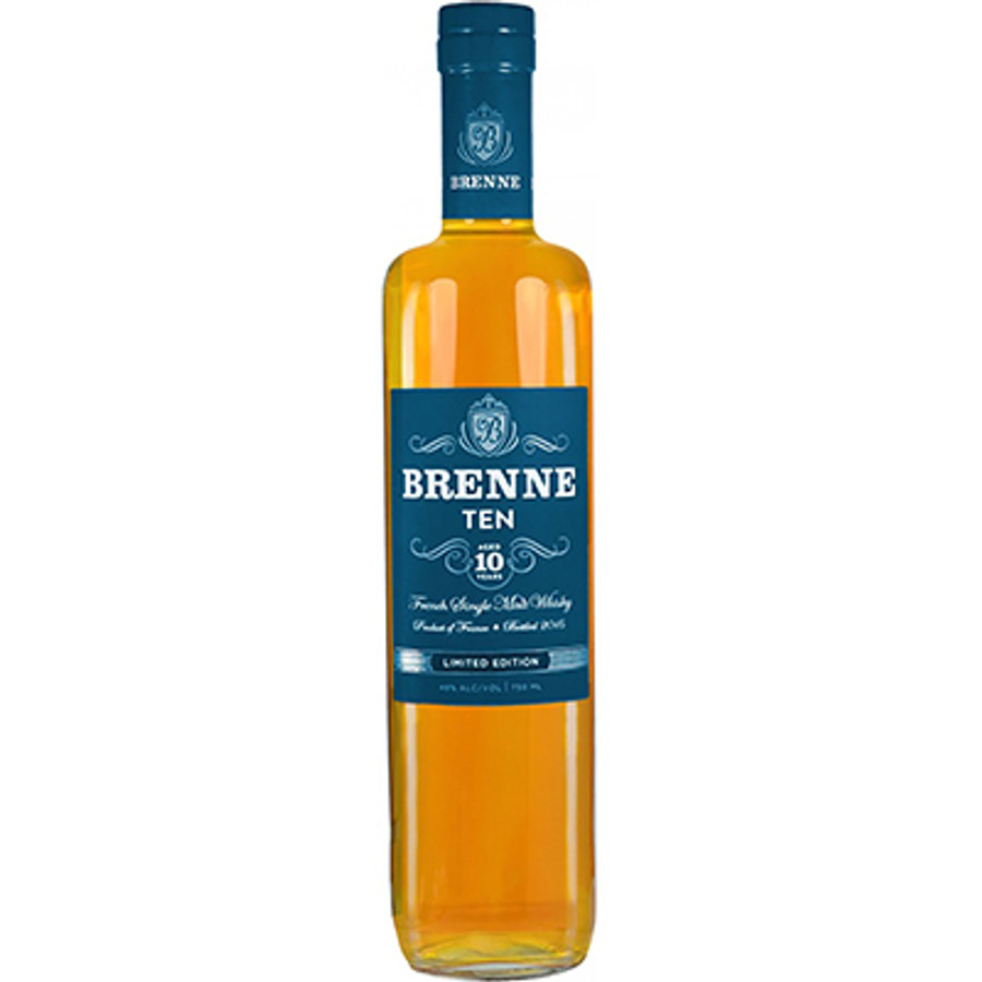 BrenneSingle Malt Whisky 10 Years Old Finished in Cognac Barrels
