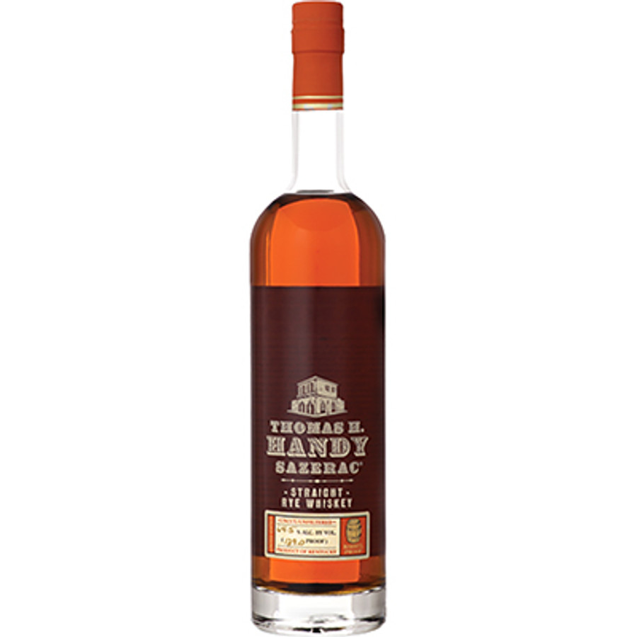 """Thomas H. Handy Sazerac Straight Rye Whiskey Barrel Proof Uncut/Unfiltered """"Antique Collection"""""""