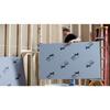 Durock Ultralight Foam Backer Board weighs very little