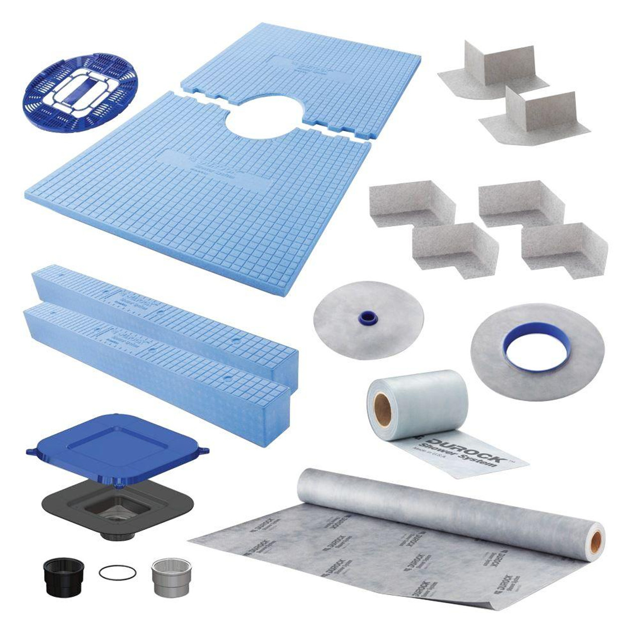 Durock Shower Systems Kit 32\