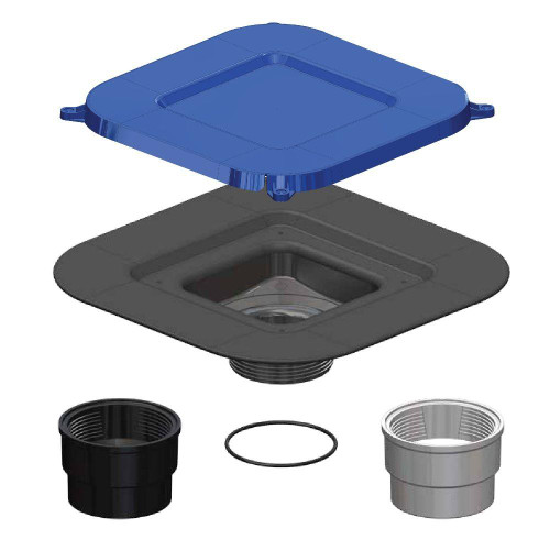 Durock Shower Drain Kit Assemby