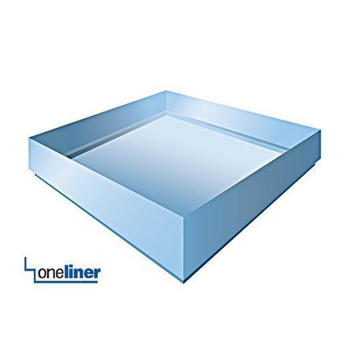 Square Oneliner structured waterproof shower pan liner the one and only