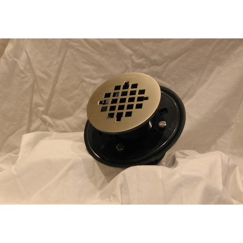 High Quality Oatey Round Drain Grate Upgrade In Satin Nickle ...