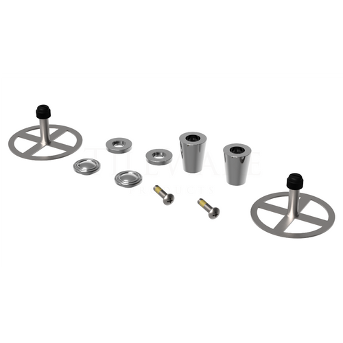 Cone Hook Duo - installation kit