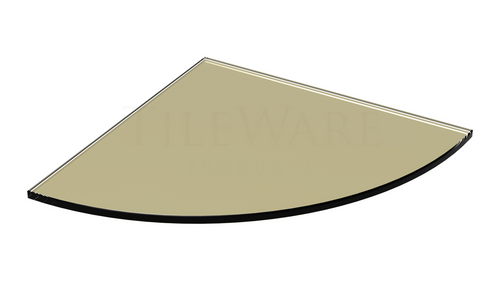 Glass Shelf - Wheat