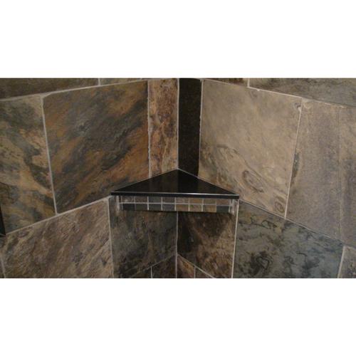 "18"" Corner Shelf Slab in Cultured Onyx"